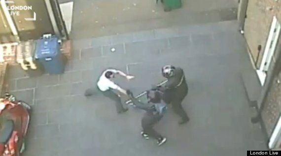 Moped Gang Snatches Man's £60,000 Watch From Wrist In Extraordinary CCTV