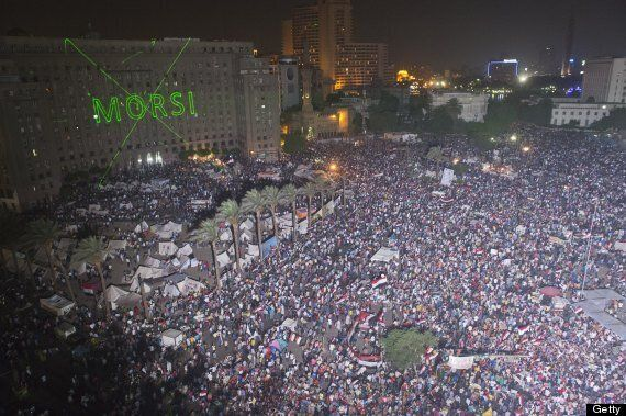 Egypt's President Morsi Ousted In Military Coup, Sparking Wild