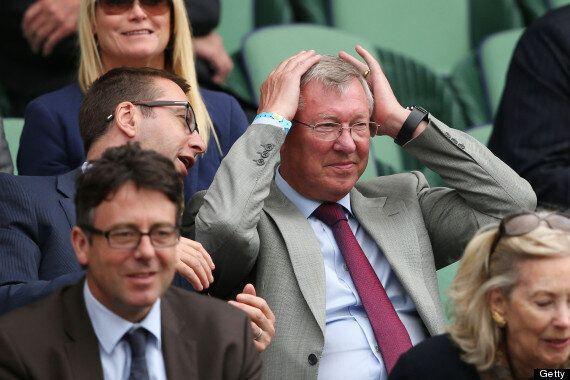 Sir Alex Ferguson Watches Andy Murray At Wimbledon