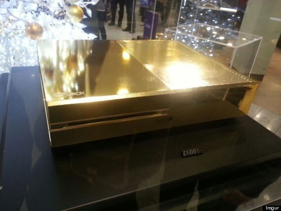 Gold-Plated Xbox One Console? That'll Be £6000