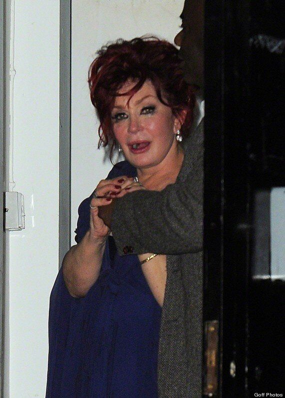 Sharon Osbourne Gives New Meaning To 'Tired And Emotional' As She Leaves 'X Factor' Wrap