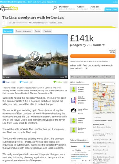 The Line - £141,000 Raised in Less Than Eight