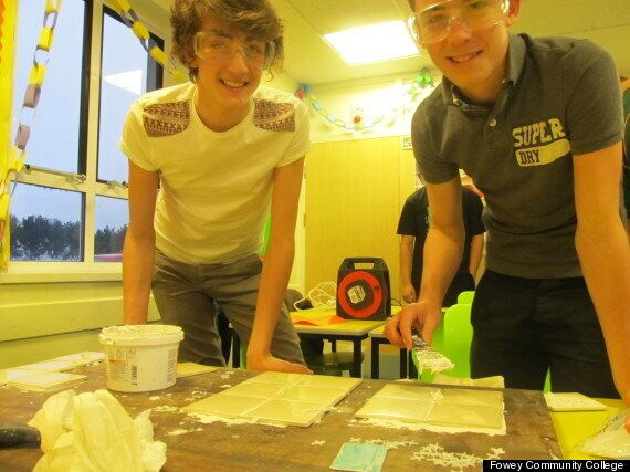Fowey Community College, Cornwall, Gives Boys Etiquette Lessons After Bad Manners