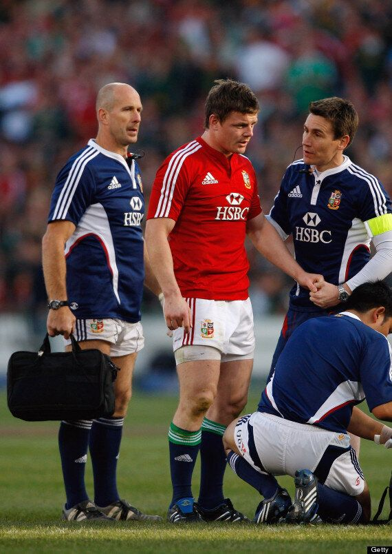 Brian O'Driscoll's British And Irish Lions Career