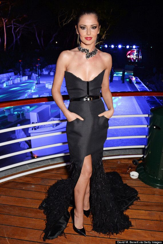 Cheryl Cole In Cannes: Singer Ensures All Eyes Are On Her In Dangerously Low-Cut Dress At Film Festival...