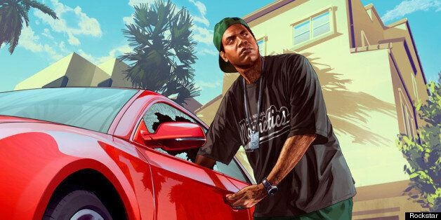 GTA 5: Beautiful New Grand Theft Auto 5 Artwork Released