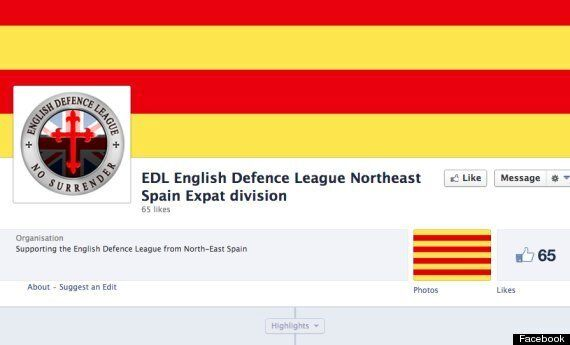 EDL Set Up Spanish Ex-Pat Division On Facebook In Greatest Irony Of Recent