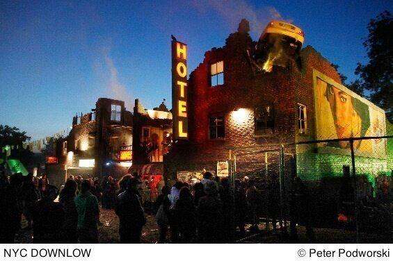 Review - Block 9 at Glastonbury