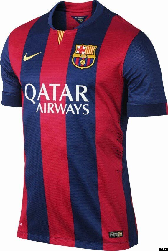 Barcelona Unveil New 2014-15 Nike Kit