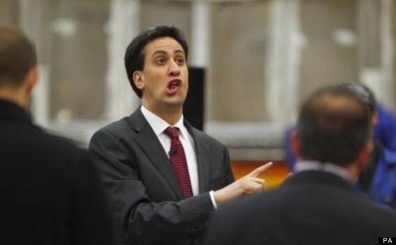 Ed Miliband Tries To Look Natural For The Cameras, Gloriously Fails, Goes Viral