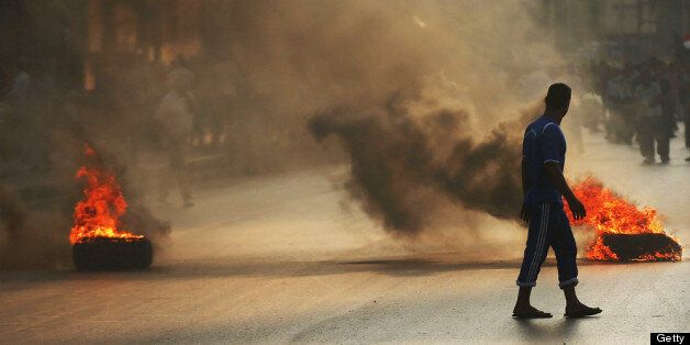 Three Morsi protesters have been shot