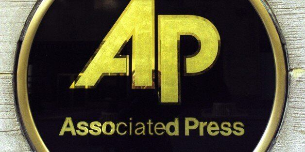 UNITED STATES - FEBRUARY 12: Logo of Associated Press ( AP ) at the headquarters The Associated Press...