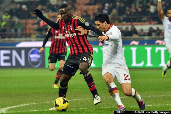 Mario Balotelli Sports Newspaper Boots For AC Milan