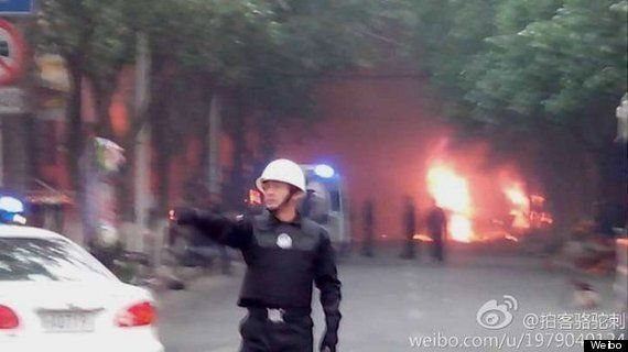 China Bomb Attack On Morning Shoppers Kills 31 As Ethnic Tensions