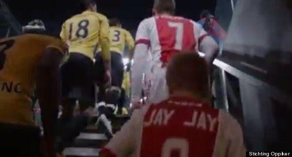Ajax Sign Chronically Ill 8 Year Old Boy