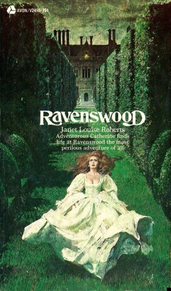 Women Running From Houses: 20 Epic Gothic Horror Book Covers