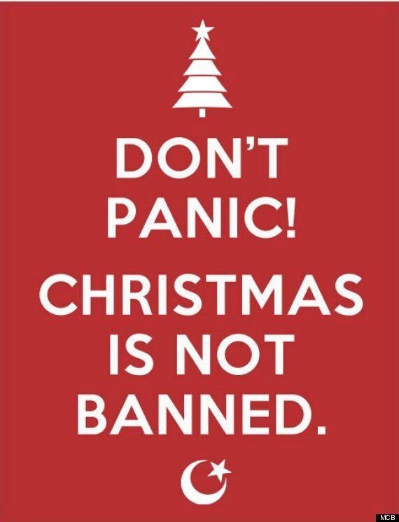 'We Really Don't Want To Ban Christmas,' Muslims