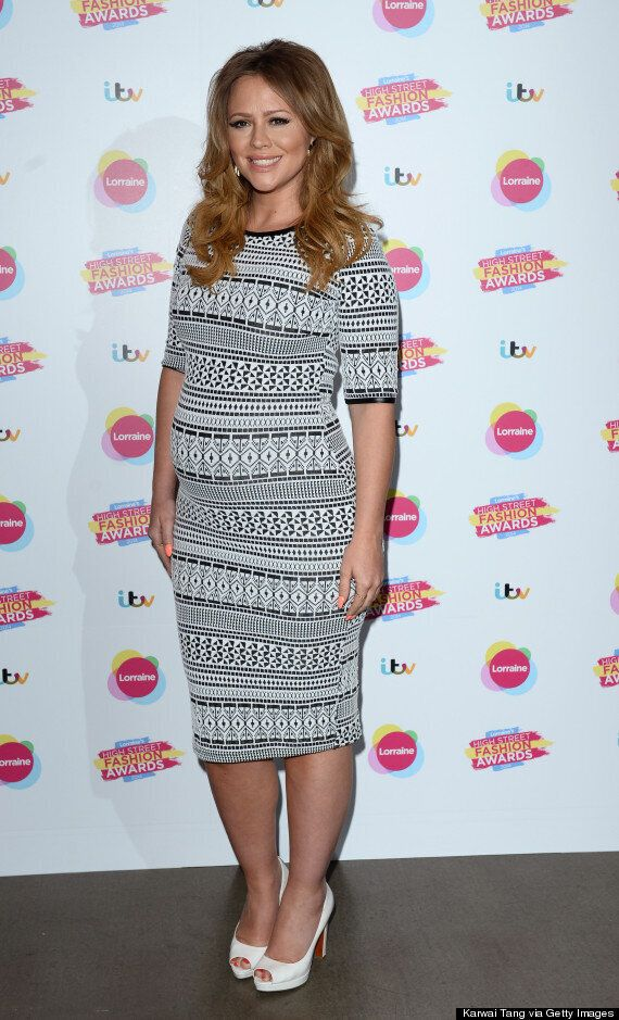 Kimberley Walsh Pregnant: Star Shows Off Baby Bump At Lorraine Kelly's High Street Fashion Awards
