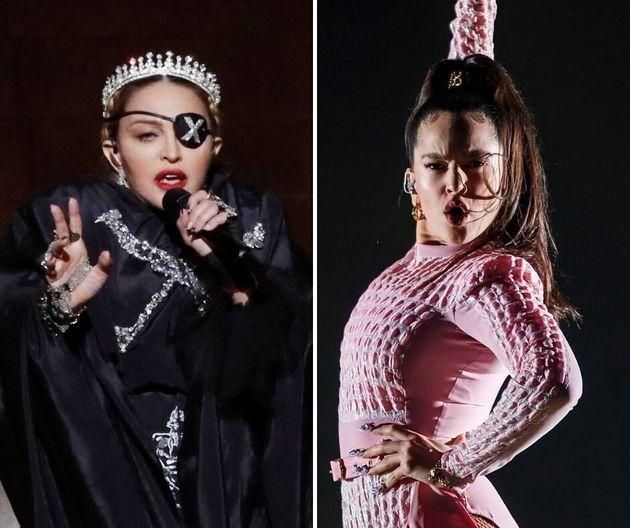 Rosalía no actuó en el cumpleaños de Madonna por una
