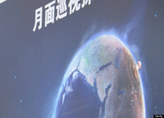 China's Promo Pictures For Moon Rover Show Europe Being Nuked