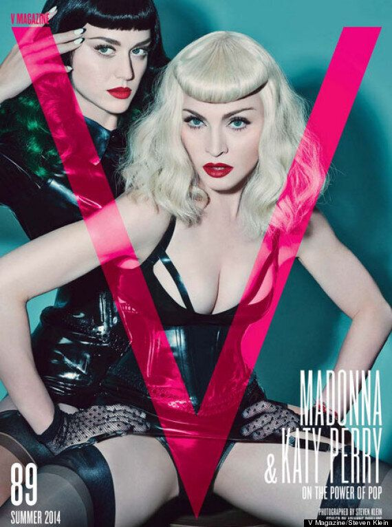 Katy Perry And Madonna Unveil Bondage-Inspired Photo Shoot For V Magazine