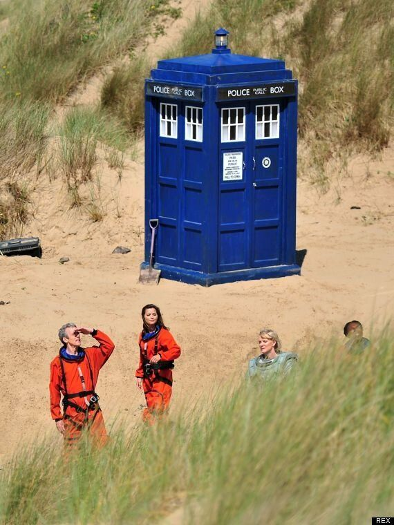 Doctor Who: Peter Capaldi And Jenna-Louise Coleman Film New Series