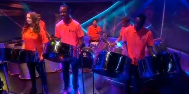 Ukip Carnival Steel Band Play Daft Punk's Get Lucky On Newsnight