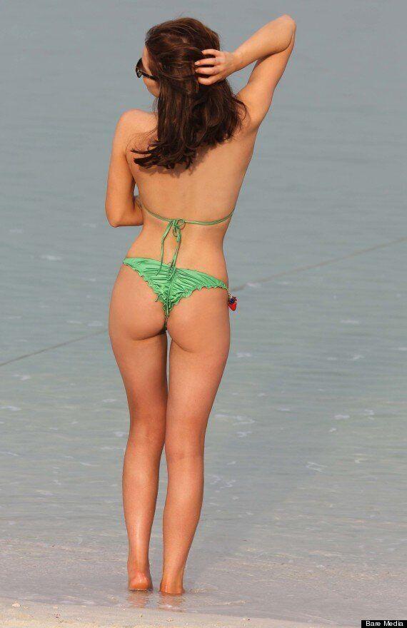 Helen Flanagan Shows Her Cheeky Side In Her Bikini As She Soaks Up the Sun In Dubai