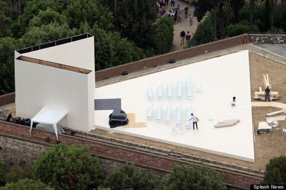 Kim Kardashian And Kanye West's Wedding: Florence Venue Make Final Preparations For Ceremony