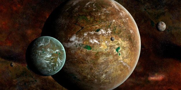 First Moon Outside Our Solar System May Have Been Detected By