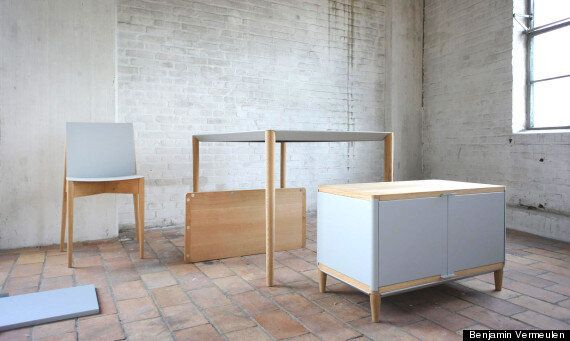 Magnetic Furniture By Benjamin Vermeulen Could Be The Future Of