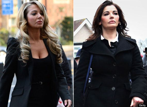 Tulisa Does Her Best Nigella Lawson Impression As She Arrives At Court Hearing