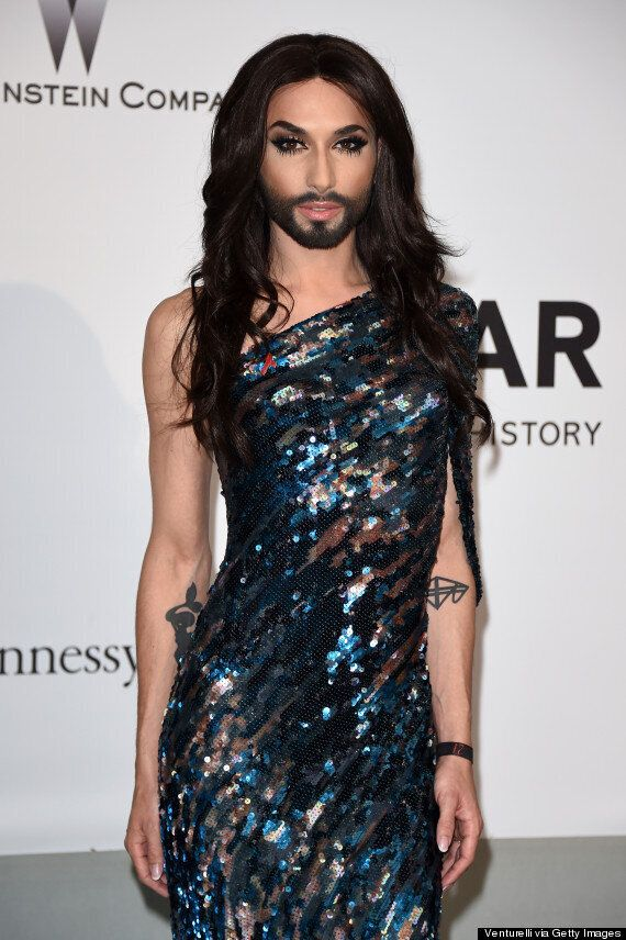 Cannes Film Festival 2014: Eurovision Winner Conchita Wurst Brings Bearded Glamour On Red Carpet