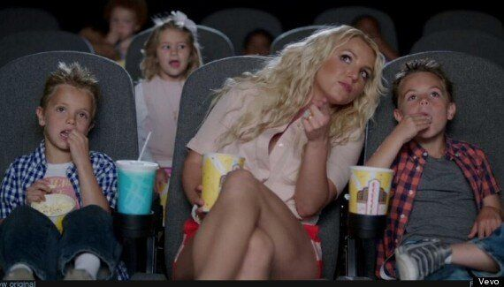Britney Spears' Sons Appear In 'Ooh La La' Video For 'Smurfs 2' Soundtrack