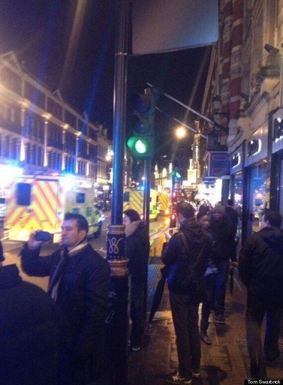 Apollo Theatre Collapse In London, Injuries Expected