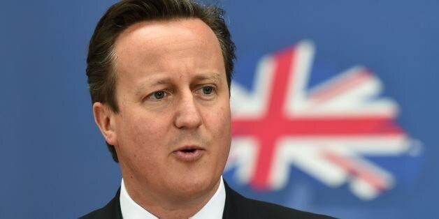 File photo dated 2/5/2014 of David Cameron who has called on floating voters to shun the