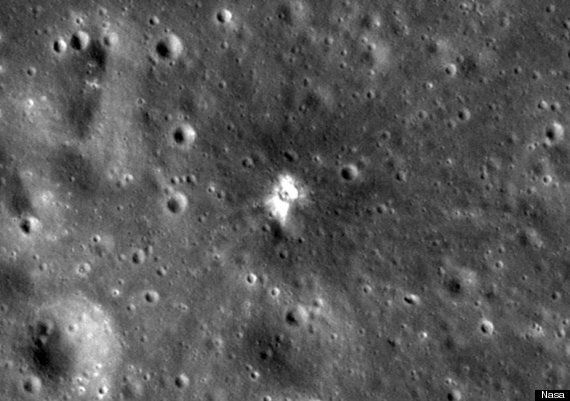 The Moon Has A New Crater