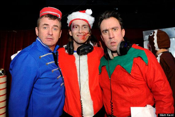 David Tennant Jokes About The Best 'Doctor Who' During Zombie Claus Panto