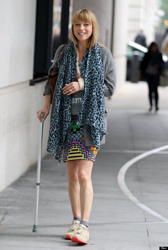 Sara Cox On Her Horse Riding Accident: 'I Thought I Was
