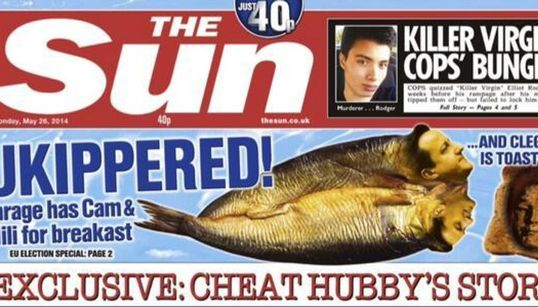 'Ukiperred!' What The Euro Election Front Pages
