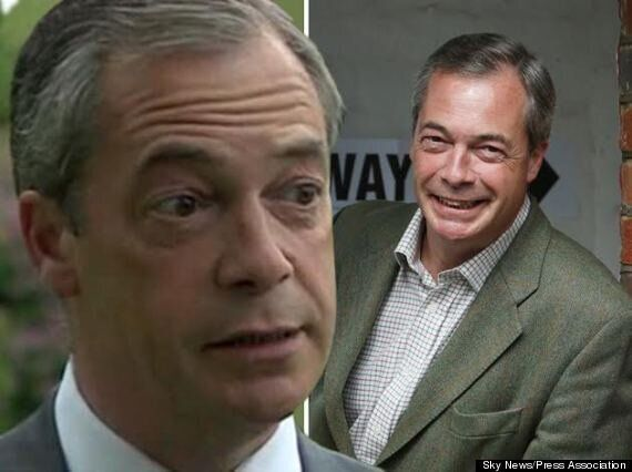 European Election: Nigel Farage Looking Tired And Grey After Night Of Results Coming