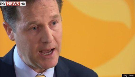 European Elections: Nick Clegg Close To Tears As He Tells Sky News 'Lib Dem Strategy Didn't