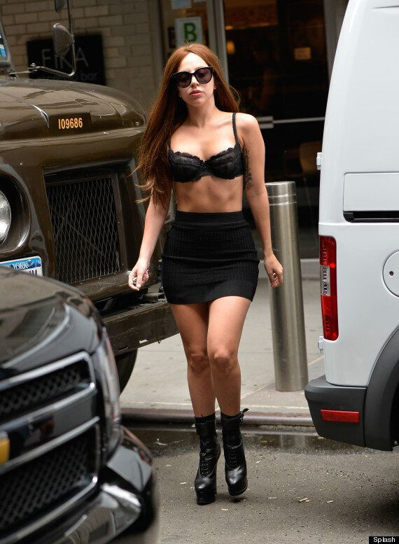 Lady Gaga Makes 'ARTPOP' Announcement After She Wanders Around New York In Her Bra