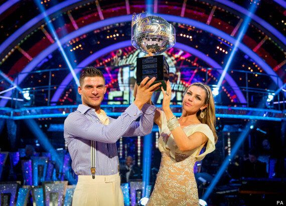 Abbey Clancy Wins BBC's Strictly Come Dancing