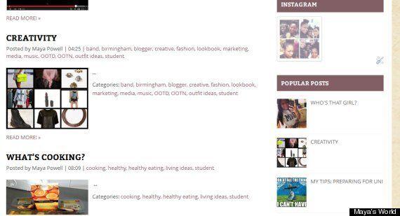 Student Blog Of The Week: Birmingham City University Student Maya Powell's 'Maya's