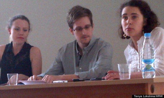 Edward Snowden Pictured In Moscow As He Reveals Plans To Seek Asylum In