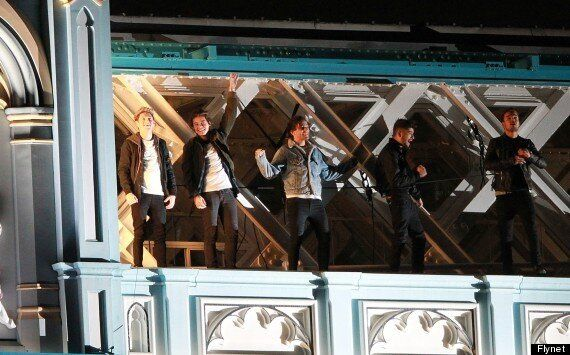 One Direction Film 'Midnight Memories' Video On Tower Bridge, As New Tour Predicted To Earn $1Billion