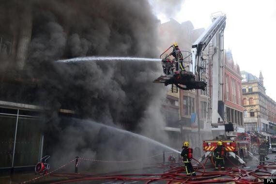 Firefighter Stephen Hunt Killed Tackling Huge Fire In