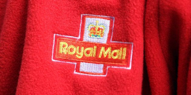 File photo dated 09/10/13 of a Royal Mail logo as the company joined the stock market's list of elite...