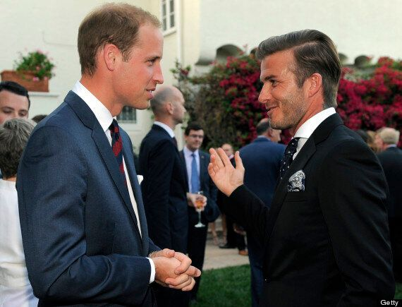 David Beckham Recommends Calling The Royal Baby